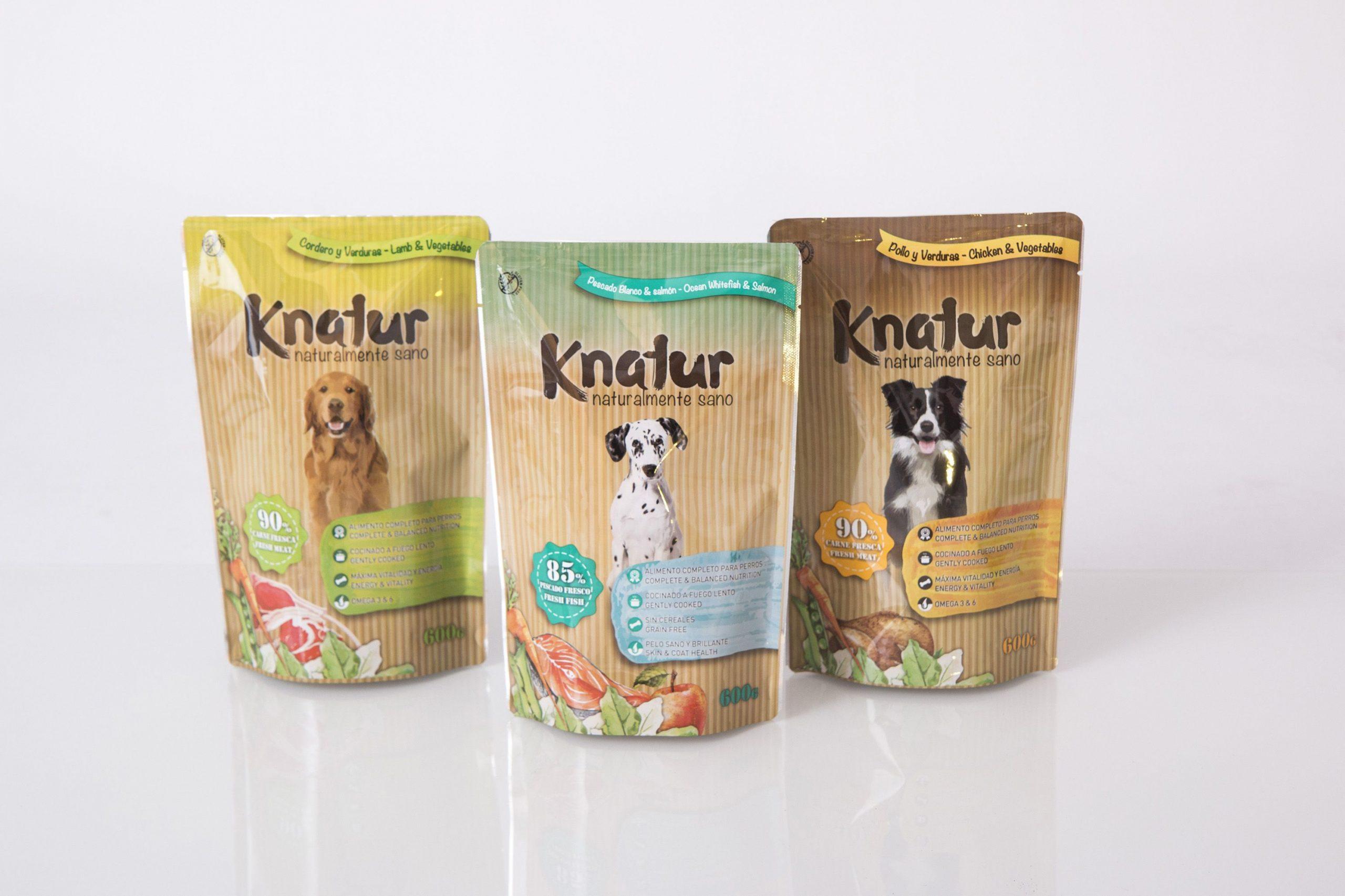 Comida natural para perros Knatur