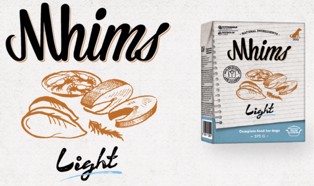 alimento para perros mhims light
