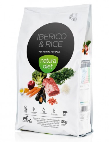 natura diet iberico y arroz