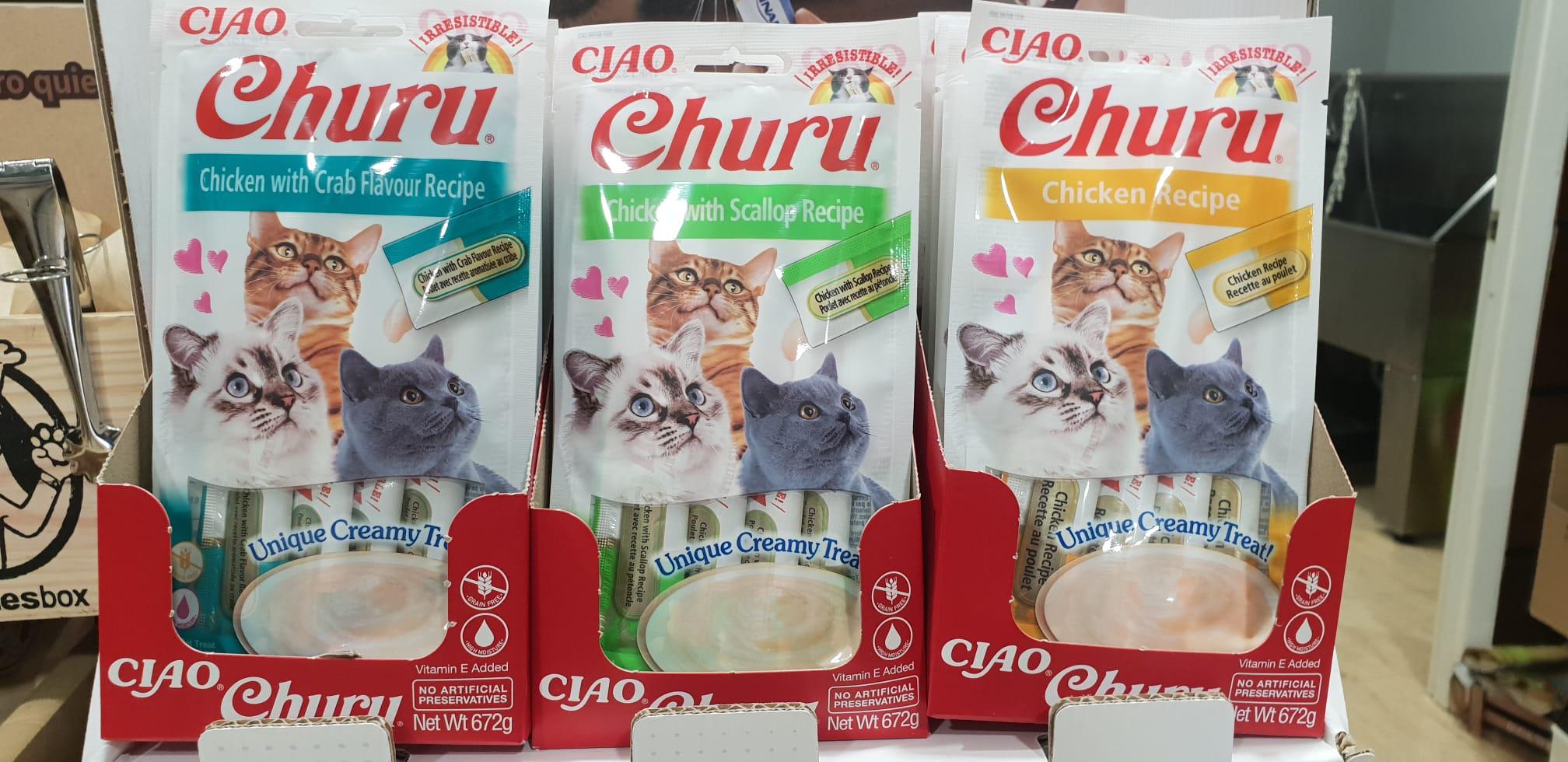 snack para gatos churu
