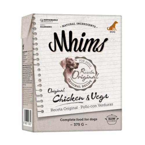 comida húmeda mhims pollo verduras para perros