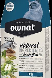 pienso ownat classic fish para gatos