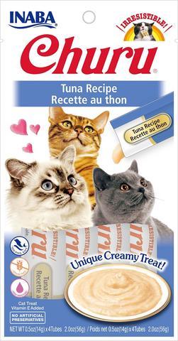 snack churu atun para gatos
