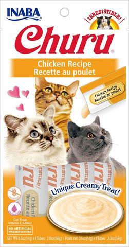 snack churu pollo para gatos