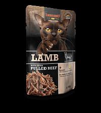 comida húmeda leonardo cordero con extra de ternera para gatos