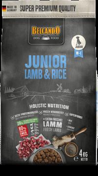 pienso belcando junior lamb & rice para cachorros
