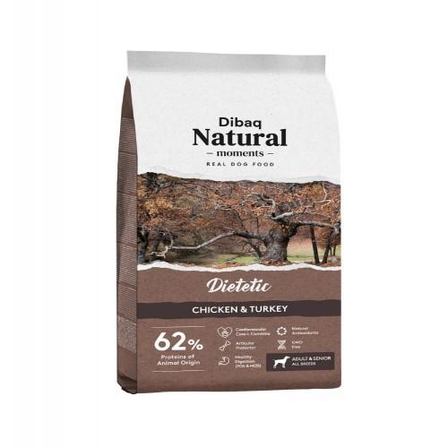 Pienso Dibaq Natural Moments Dietetic para perros