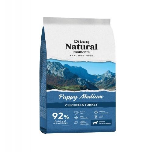 Pienso Dibaq Natural Moments Puppy Medium para cachorros
