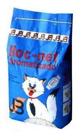 arena aromatizada lloc net para gatos