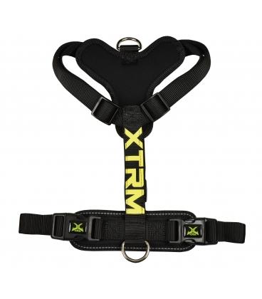 arnés nayeco x-trm nylon negro para perros