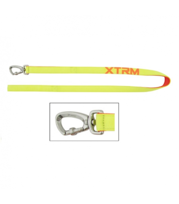 correa nayeco x-trm nylon amarillo neón para perros