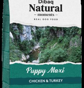 pienso dibaq natural moments puppy maxi para cachorros