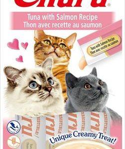 snack churu atun con salmon para gatos